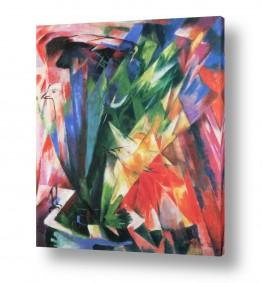 אמנים מפורסמים מרק פרנץ | Franz Mark 013