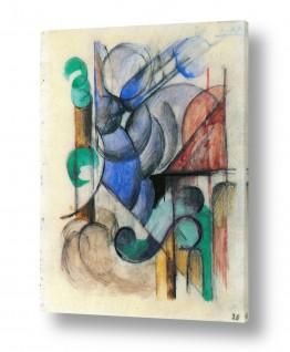 אמנים מפורסמים מרק פרנץ | Franz Mark 016