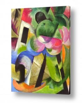 אמנים מפורסמים מרק פרנץ | Franz Mark 017