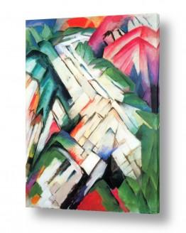 אמנים מפורסמים מרק פרנץ | Franz Mark 018