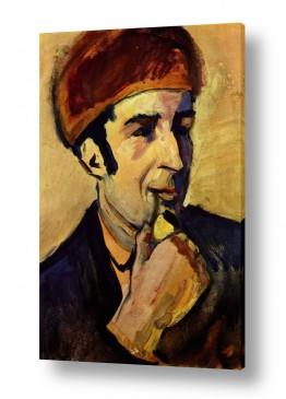 אמנים מפורסמים מרק פרנץ | Franz Mark 019