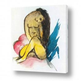 אמנים מפורסמים מרק פרנץ | Franz Mark 021