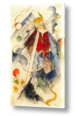 אמנים מפורסמים מרק פרנץ | Franz Mark 022