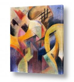 אמנים מפורסמים מרק פרנץ | Franz Mark 023