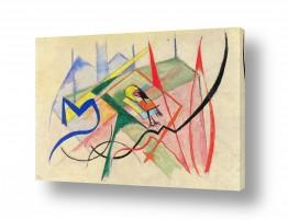 אמנים מפורסמים מרק פרנץ | Franz Mark 025