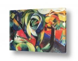 אמנים מפורסמים מרק פרנץ | Franz Mark 026
