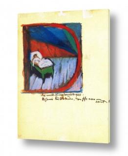 אמנים מפורסמים מרק פרנץ | Franz Mark 028
