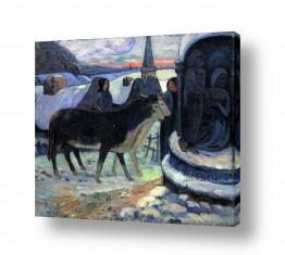 אמנים מפורסמים פול גוגן | Paul Gauguin 063
