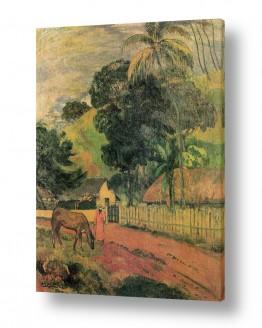 אמנים מפורסמים פול גוגן | Paul Gauguin 074