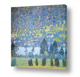 אמנים מפורסמים גוסטב קלימט |  Landscapes נופים