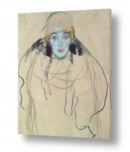 אמנים מפורסמים גוסטב קלימט | Gustav Klimt 037