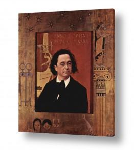 אמנים מפורסמים גוסטב קלימט | Gustav Klimt 038