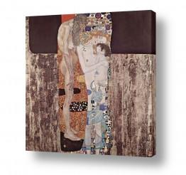 אמנים מפורסמים גוסטב קלימט | שלושה עידנים של אישה
