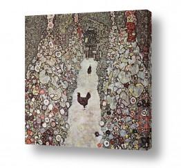אמנים מפורסמים גוסטב קלימט | Gustav Klimt 059
