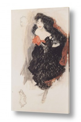 אמנים מפורסמים גוסטב קלימט | Gustav Klimt 062