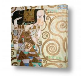 אמנים מפורסמים גוסטב קלימט | Expectation