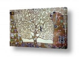 אמנים מפורסמים גוסטב קלימט | עץ החיים tree of life