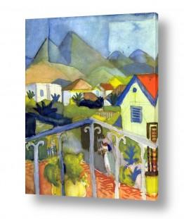 אמנים מפורסמים אוגוסט מקה | August Macke 008