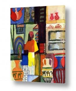 אמנים מפורסמים אוגוסט מקה | August Macke 009