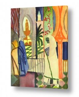 אמנים מפורסמים אוגוסט מקה | August Macke 012