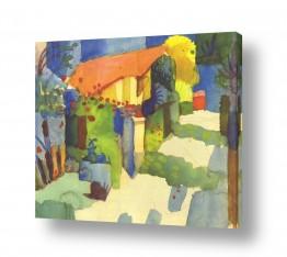 אמנים מפורסמים אוגוסט מקה | August Macke 013