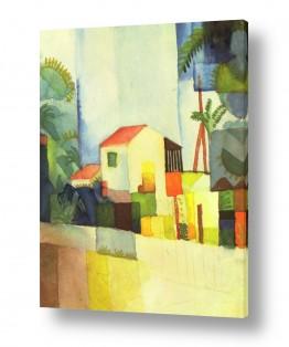 אמנים מפורסמים אוגוסט מקה | August Macke 014