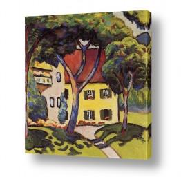 אמנים מפורסמים אוגוסט מקה | August Macke 019