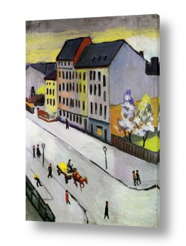 אמנים מפורסמים אוגוסט מקה | August Macke 022