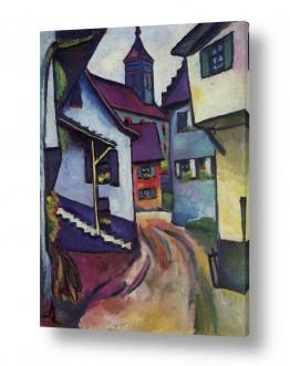 אמנים מפורסמים אוגוסט מקה | August Macke 023