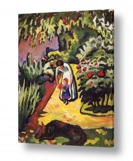 אמנים מפורסמים אוגוסט מקה | August Macke 025