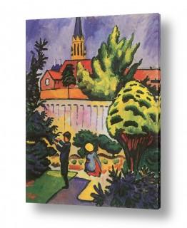 אמנים מפורסמים אוגוסט מקה | August Macke 027