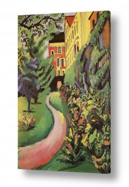 אמנים מפורסמים אוגוסט מקה | August Macke 028