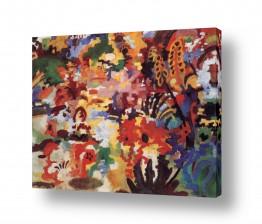 אמנים מפורסמים אוגוסט מקה | August Macke 029