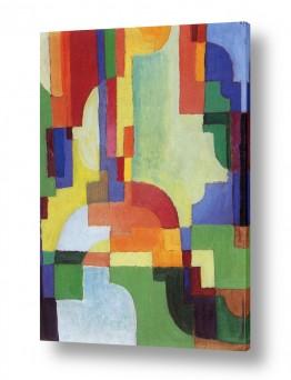 אמנים מפורסמים אוגוסט מקה | August Macke 030