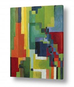 אמנים מפורסמים אוגוסט מקה | August Macke 031