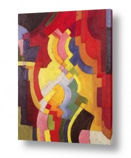 אמנים מפורסמים אוגוסט מקה | August Macke 032