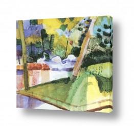 אמנים מפורסמים אוגוסט מקה | August Macke 035