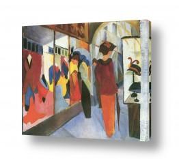 אמנים מפורסמים אוגוסט מקה | August Macke 069