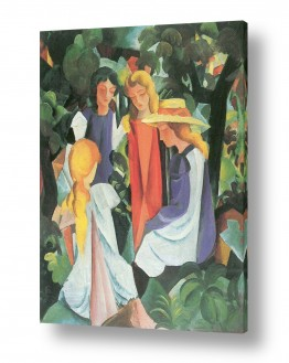 אמנים מפורסמים אוגוסט מקה | August Macke 071