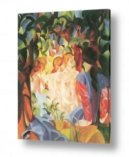 אמנים מפורסמים אוגוסט מקה | August Macke 072