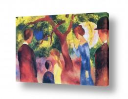 אמנים מפורסמים אוגוסט מקה | August Macke 073