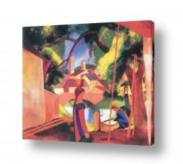 אמנים מפורסמים אוגוסט מקה | August Macke 075
