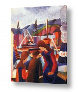 אמנים מפורסמים אוגוסט מקה | August Macke 076