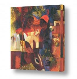 אמנים מפורסמים אוגוסט מקה | August Macke 079