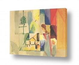 אמנים מפורסמים אוגוסט מקה | August Macke 085