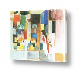אמנים מפורסמים אוגוסט מקה | August Macke 086