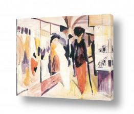 אמנים מפורסמים אוגוסט מקה | August Macke 088