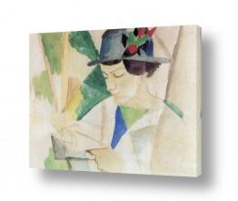 אמנים מפורסמים אוגוסט מקה | August Macke 091