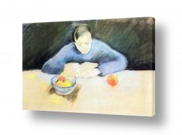 אמנים מפורסמים אוגוסט מקה | August Macke 092