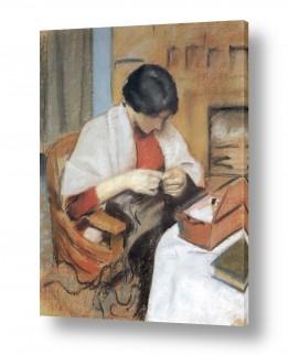 אמנים מפורסמים אוגוסט מקה | August Macke 093